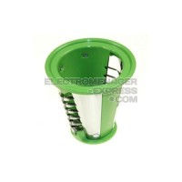 CONE COUTEAU A FRITES VERT